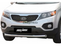 Front Protection KIA Sorento 09-12 Inox 76ММ