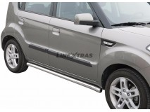 Side Protections KIA Soul 09-13 Stainless Steel Tube 63MM