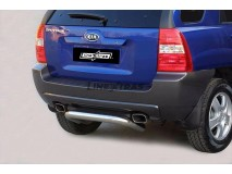 Rear Protection KIA Sportage 04-08 Stainless Steel 76MM