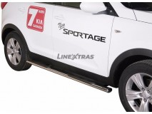 Side Steps KIA Sportage 10-15 Stainless Steel GPO