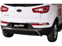 Rear Protection KIA Sportage 10-15 Stainless Steel 50MM