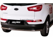 Rear Complete Protection KIA Sportage 10-15 Stainless Steel 63MM