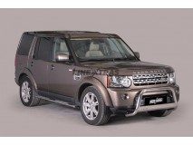 Big Bar U Land Rover Discovery 4 Stainless Steel W/ EC