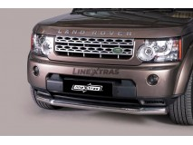 Front Protection Land Rover Discovery 4 Inox 76ММ