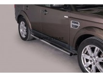 Side Steps Land Rover Discovery 4 Stainless Steel Tube 76MM