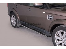 Side Steps Land Rover Discovery 4 Stainless Steel GPO