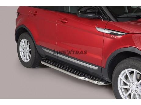 Side Steps Land Rover Evoque 2016+ Stainless Steel W/ Platform