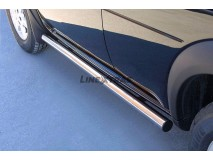 Side Protections Land Rover Freelander 98-07 Stainless Steel Tube 63MM