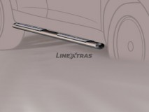 Side Steps Mazda CX-7 08-10 Stainless Steel DSP