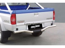 Rear Protection Mazda B2500 99-06 Stainless Steel 76MM