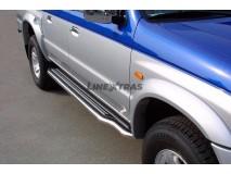 Side Steps Mazda B2500 03-06 Freestyle Cab Stainless Steel W/ Platform