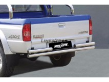 Double Rear Protection Mazda B2500 03-06 Stainless Steel 63MM