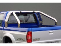 Double Roll-Bar Mazda B2500 03-06 Stainless Steel
