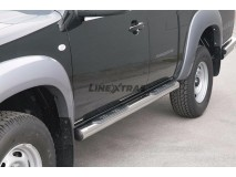 Side Steps Mazda BT-50 07-12 Freestyle Cab Stainless Steel Tube 76MM