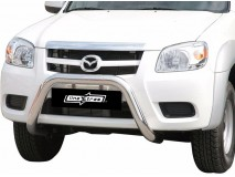 BIG BAR U INOX 76MM MAZDA BT-50 2009 C/ECE