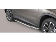 Side Steps Mazda CX-5 15-16 Stainless Steel W/ Platform