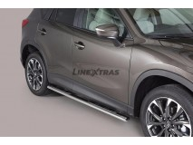 Side Steps Mazda CX-5 15-16 Stainless Steel GPO