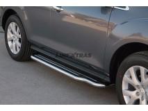 Side Steps Mazda CX-7 08-10 Stainless Steel W/ Platform