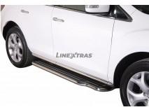 Estribos Mazda CX-7 2010+ Inox C/ Plataforma