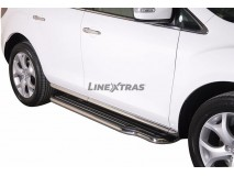 Side Steps Mazda CX-7 2010+ Stainless Steel W/ Platform