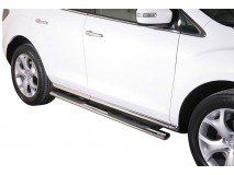 Side Steps Mazda CX-7 2010+ Stainless Steel GPO