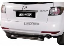 Protecção Traseira Mazda CX-7 2010+ Inox 76MM