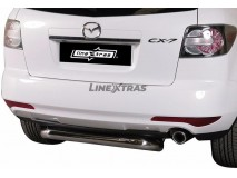 Rear Protection Mazda CX-7 2010+ Stainless Steel 76MM