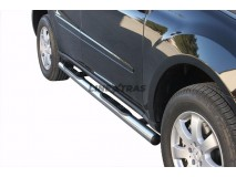 Side Steps Mercedes-Benz ML 06-12 Stainless Steel Tube 76MM