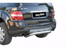 Rear Protection Mercedes-Benz ML 06-12 Stainless Steel 76MM