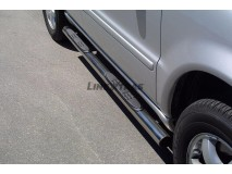 Side Steps Mercedes-Benz ML 270/400 CDI 02-05 Stainless Steel Tube 76MM
