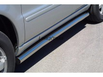 Side Protections Mercedes-Benz ML 270/400 CDI 02-05 Stainless Steel Tube 63MM