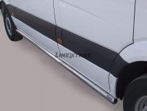 Side Protections Mercedes-Benz Sprinter 2007+ Stainless Steel Tube 63MM