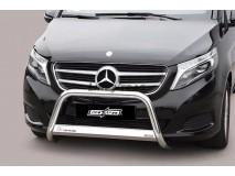 Big Bar U Mercedes-Benz V-Class 2014+ Stainless Steel W/ EC
