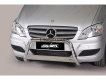 Big Bar U Mercedes-Benz Vito/Viano 10-14 Stainless Steel W/ EC