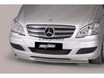 Front Protection Mercedes-Benz Vito/Viano 10-14 Stainless Steel 63ММ