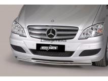 Proteção Frontal Mercedes-Benz Vito/Viano 10-14 Inox 63MM