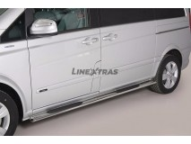 Side Steps Mercedes-Benz Viano SWB 2010+ Stainless Steel GPO