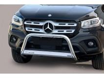Big Bar U Mercedes-Benz X Class 2017+ Stainless Steel W/ EC