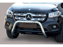 BIG BAR U INOX 76mm MERCEDES CLASSE-X C/ECE