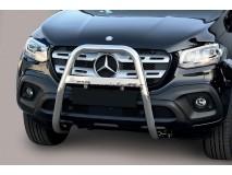 Bull Bar Mercedes-Benz X Class 2017+ Stainless Steel