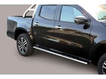 Side Steps Mercedes-Benz X Class 2017+ Stainless Steel GPO