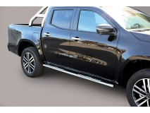 Side Steps Mercedes-Benz X Class 2017+ Stainless Steel DSP