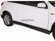 Side Protections Mitsubishi ASX 10-16 Stainless Steel Tube 40MM