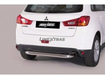 Rear Protection Mitsubishi ASX 2010+ Stainless Steel 76MM