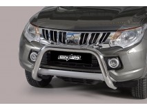 BIG BAR U INOX 76mm MITSUBISHI L200 2015 C/ECE