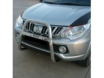Bull Bar Mitsubishi L200 2015+ Stainless Steel