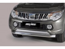 Front Protection Mitsubishi L200 2015+ Stainless Steel 76ММ
