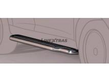 Side Steps Mitsubishi Pajero 2.5/3.2 TDI 3P 00-02 Stainless Steel W/ Platform