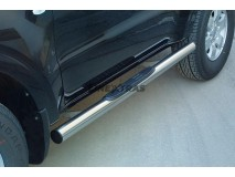 Side Steps Mitsubishi Pajero 2.5/3.2 TDI GL/GLX 2003 3D Stainless Steel Tube 76MM