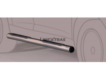 Side Steps Mitsubishi Pajero 2007+ 5D Stainless Steel Tube 76MM